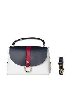 tommy-hilfiger-circular-hardware-leather-bag-navynbsp