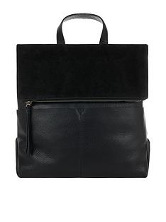 accessorize-lydia-leather-backpack-blacknbsp