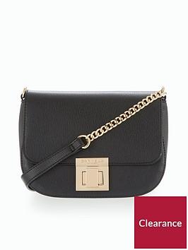 carvela-sara-saddle-bag-black