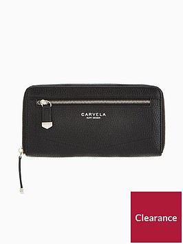 carvela-alis-zip-around-purse-black