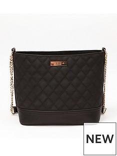 carvela-star-quilted-shoulder-bag-black