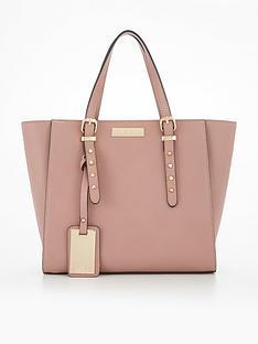 carvela-sammy-studded-detail-winged-tote-bag-pink