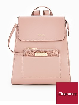 carvela-slinky-pocket-backpack-pink