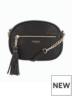 carvela-sophia-tassel-crossbody-bag-black