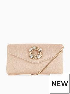 dune-dune-rose-brooch-trim-clutch-bag