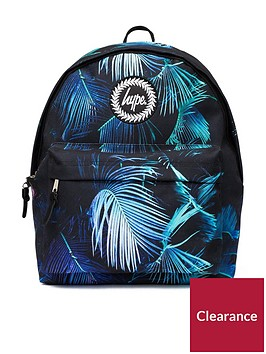 hype-backpack-neon-palm-print