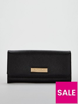 carvela-alisa-foldover-purse-black