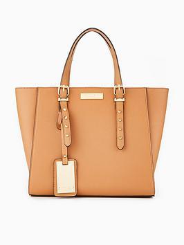 carvela-sammy-studded-detail-winged-tote-bag-tan