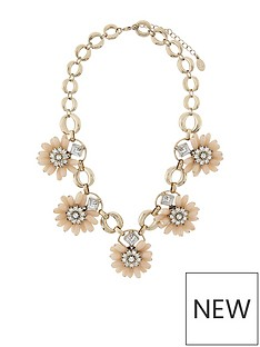 accessorize-3d-flower-statement-necklace