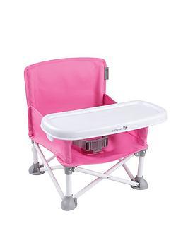 Summer Infant Pop N Sit Folding Booster- Pink