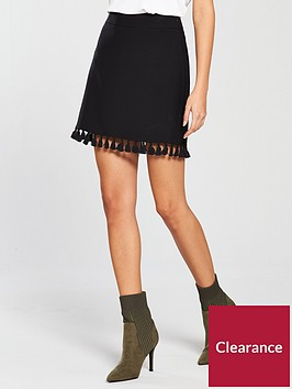 v-by-very-tasselnbspa-line-skirt-black