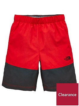 the-north-face-boys-class-v-water-shorts-rednbsp