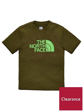the-north-face-boys-reaxion-tee-olivenbsp