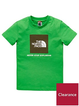 the-north-face-youth-box-tee-greennbsp