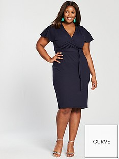 v-by-very-curve-kimono-wrap-pencil-dress-navy