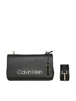 Calvin Klein Calvin Klein Black Candy Black Shoulder Bag