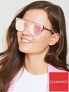 fa36f3eaa3993d Ted Baker Brow Bar Sunglasses - Pink