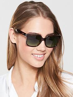 karen-millen-square-frame-sunglasses-tortoiseshell