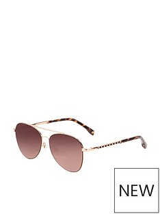 karen-millen-aviator-sunglasses-rose-gold