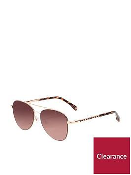 karen-millen-aviator-sunglasses-rose-gold