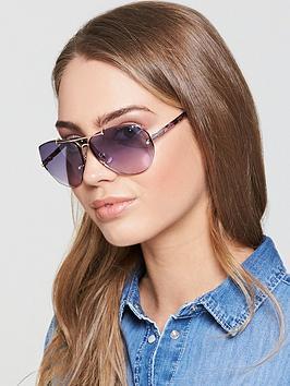 Swarovski Aviator Sunglasses - Lilac