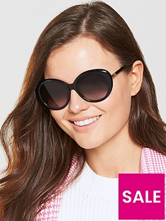 longchamp-oval-sunglasses-black