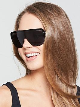 Tom Ford Angus Shield Sunglasses - Black