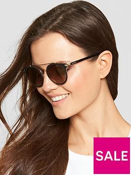 calvin-klein-brow-bar-sunglasses-black