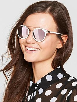 Calvin Klein Brow Bar Sunglasses - Nude