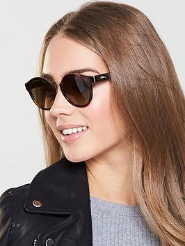 Longchamp Brow Bar Sunglasses - Brown