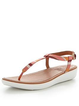 Fitflop Tia Toe Thong Sandal - Orange