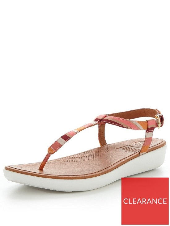 a439d43fd3994 FitFlop Tia Toe Thong Sandal - Orange