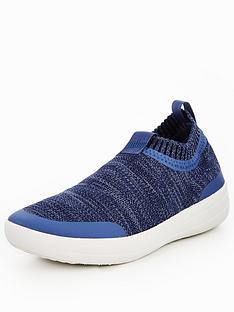 quality design e9b7e 36dc8 FitFlop Überknit Slip-On Sneaker - Blue