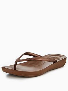 fitflop-iqushiontradenbspergonomic-flip-flop-bronze