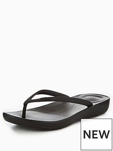 fitflop-iqushiontradenbspergonomic-flip-flop-black