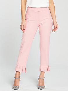 v-by-very-petite-petite-pleated-hem-trouser-blushnbsp