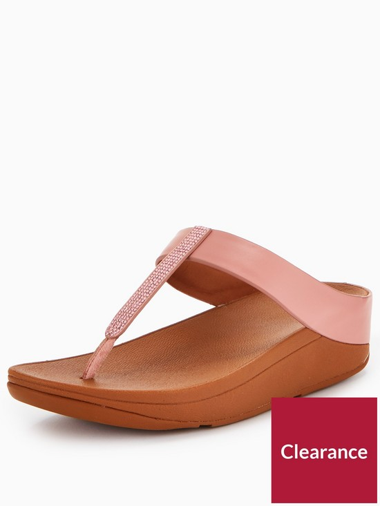 5b24b1d02 FitFlop Fino Toe Post Sandal