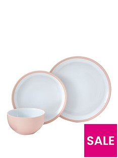 ideal-home-edge-12-piece-dinner-set-ndash-pink