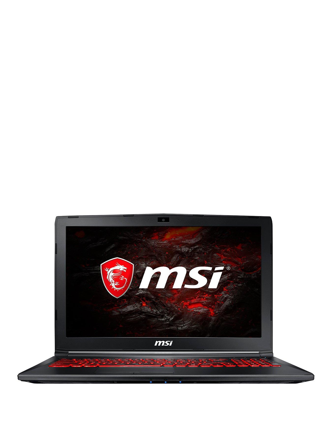 MSI GL62M 7RDX Intel® Core™ i7 Processor, 16Gb RAM, 1Tb Hard Drive, 15.6 inch FHD Gaming Laptop with GeForce GTX 1050 Graphics Includes Bundle Pack