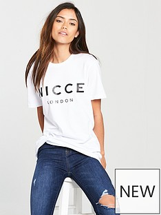 nicce-ladies-original-logo-t-shirt-whitenbsp