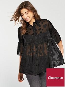 lost-ink-sheer-heart-smock-shirt