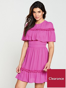 v-by-very-mock-cape-dress