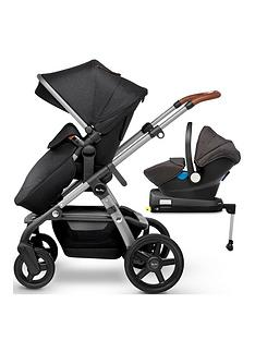 silver-cross-wave-pushchair-car-seat-amp-base-bundle