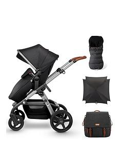 silver-cross-wave-pushchair-footmuff-parasol-amp-changing-bag-bundle