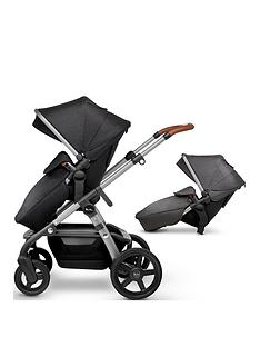 silver-cross-wave-pushchair-amp-tandem-seat-bundle