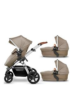 silver-cross-wave-pushchair-amp-additional-carrycot-bundle