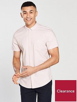 v-by-very-short-sleeve-oxford-shirt-pinknbsp