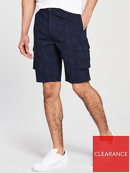 v-by-very-printed-cargo-shorts-navy