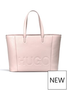 hugo-boss-mayfair-large-logo-leather-shopper-tote-bag-pink