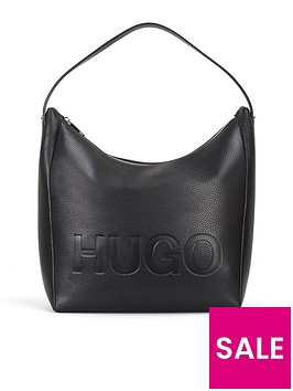 hugo-boss-mayfair-hobo-leather-bag-black